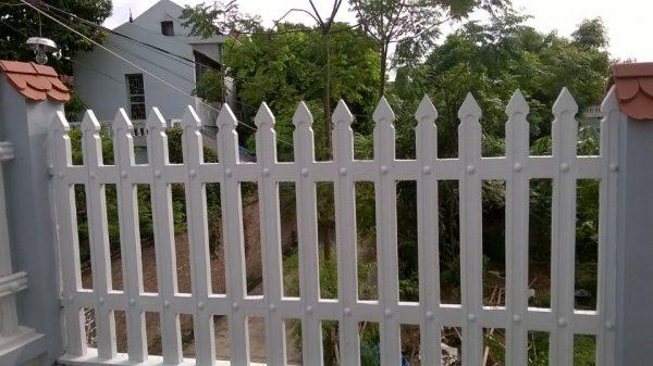 hàng rào bê tông